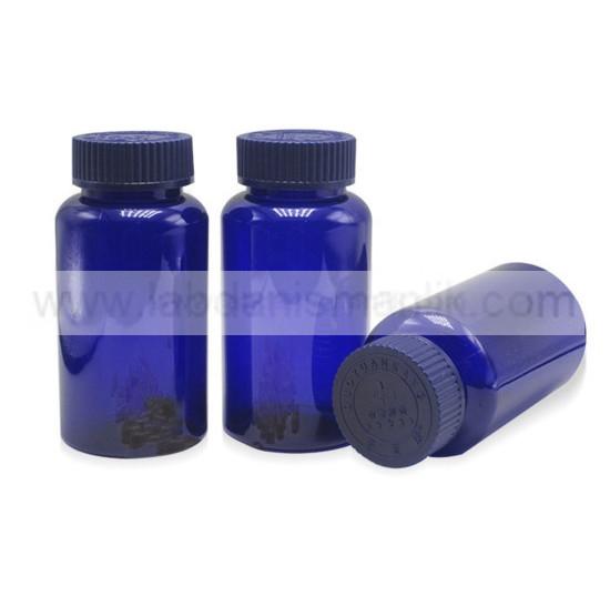 Pet Şişe - LD - blue - back