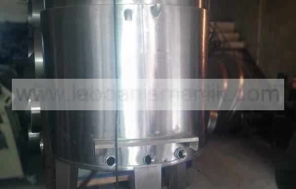 Karıştırıcı – 1 tonluk restans  isiticili karistiricili – Paslanmaz Çelik – Özel İmalat