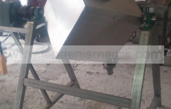 Karıştırıcı – 100 kg lık ve üzeri küre toz karıştırıcı – Paslanmaz Çelik – Özel İmalat