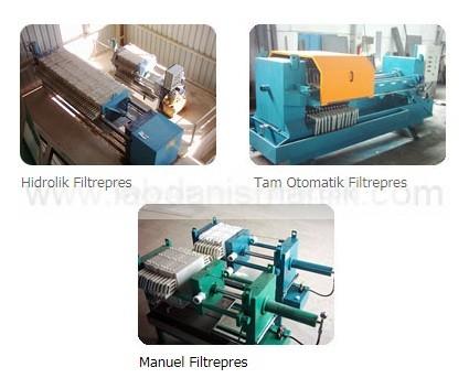 Filtre pres – ÖZEL İMALAT / Filter press – CUSTOM MANUFACTURING