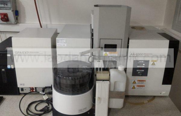 AAS – AA6300 GFA MODEL – SHIMADZU – GFA-EX7İ – Auto Sampler ASC-6100 – 2. EL AAS