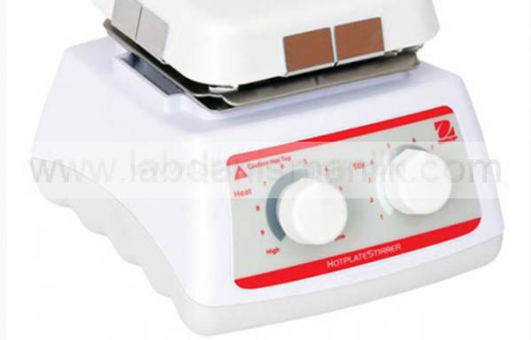 Isıtıcılı Manyetik Karıştırıcı – Ohaus HSMNHS4CAL Basic Mini Hotplate-Stirrer