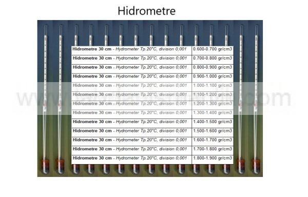 Dansimetre – Cam – Greinorm Alman Malı Hidrometre