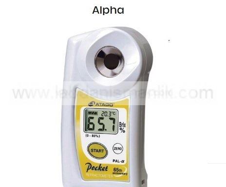 Refraktometre – Atago Dijital Refraktometre Pal Alfa 0-85 Brix – PAL-α Alpha