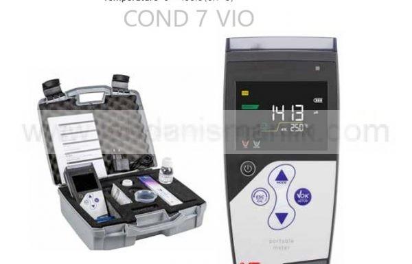 İletkenlik – Portatif – XS – COND 7 VIO – COND + TDS + TEMP