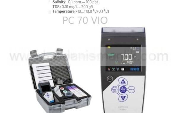 Multiparametre – Portatif – XS – PC 70 VIO – pH + mV + COND + TUZLULUK + TDS + TEMP