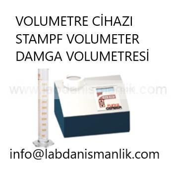 Volumetrik Cihazı – Funke Gerber STAMPF VOLUMETER – DAMGA VOLUMETRESİ
