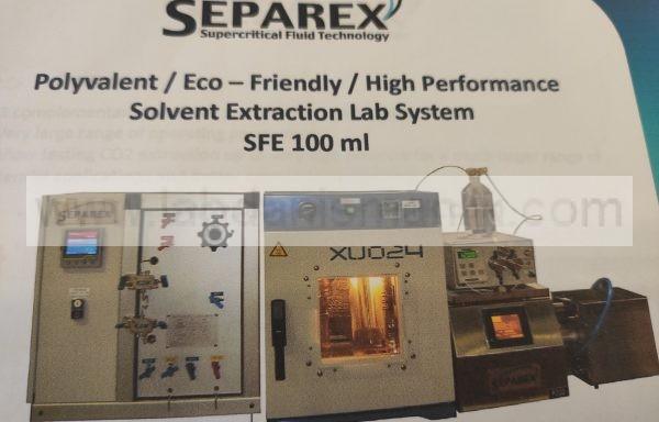 Solvent ekstraksiyon laboratuvar sistemi – 2. EL