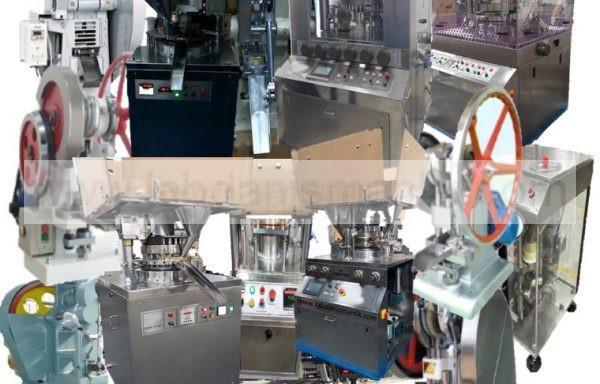 TABLET BASKI MAKİNESİ - TABLET PRESS MACHINE